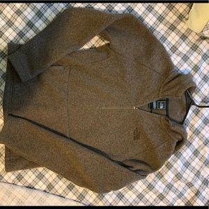 The North Face Hooded quarter zip
